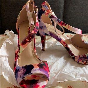 Dream Pairs Floral Stilettos High Heel size 7